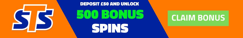 stsbet casino free spins